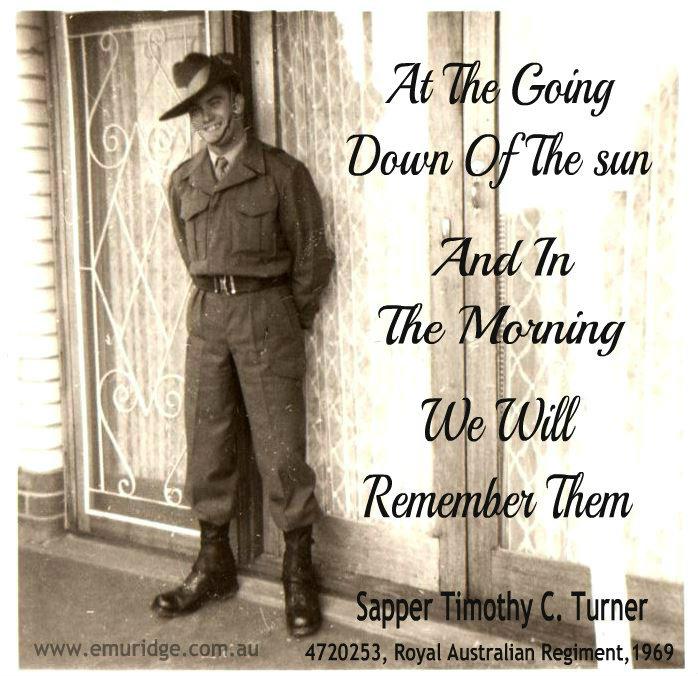 Remembering Anzacs