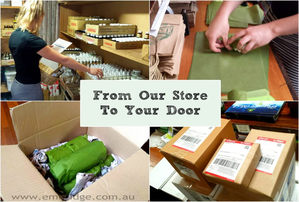 from our store to your door