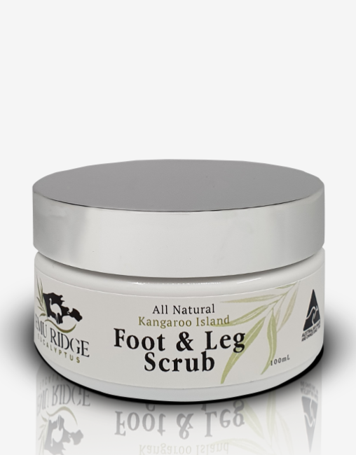 Foot Leg Scrub Emu Ridge