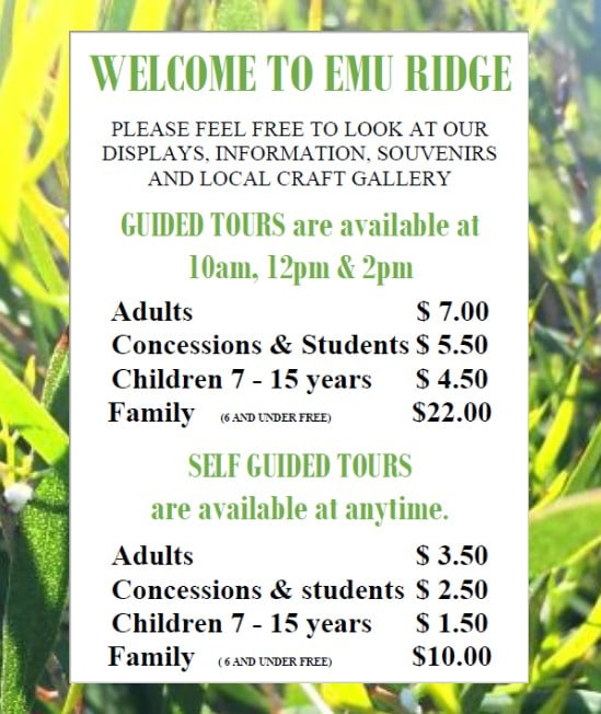 Emu Ridge Tours