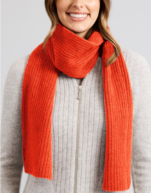 a2070 newlands scarf hot coral